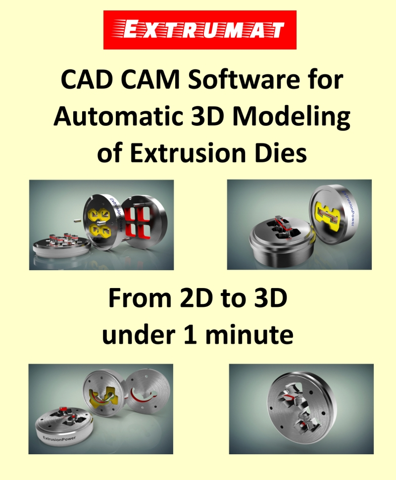 New Extrusionpower Version Presents Innovative Cad Cam Technologies For Aluminium Extrusion Industry